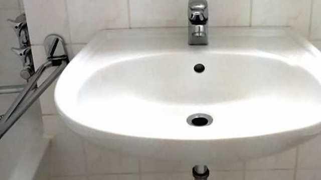 Messie Waschbecken nachher
